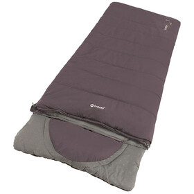Outwell Contour Sleeping Bag, dark purple